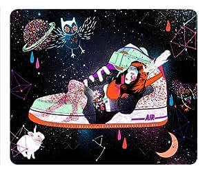 Nike Shoes Design Mouse Pad, Customized Oblong MousePad - popcustom