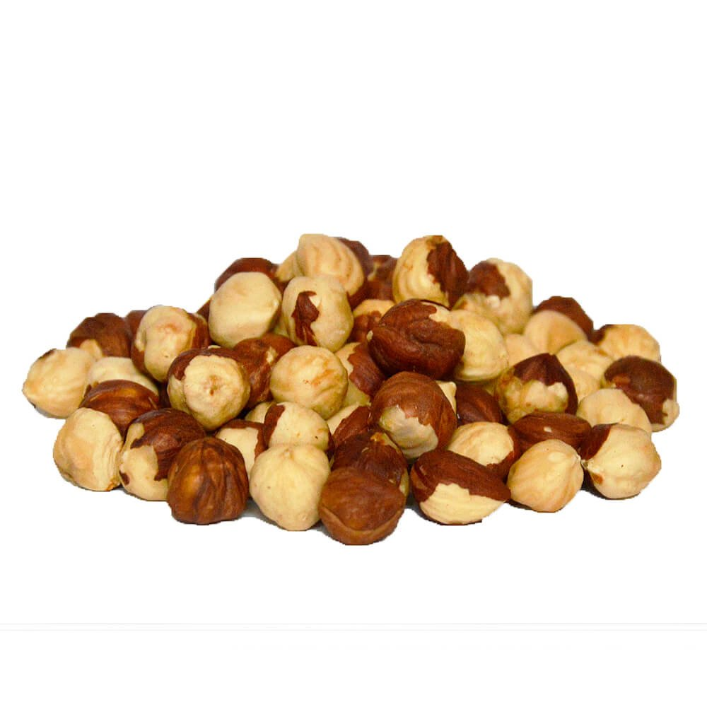 Roasted Natural Hazelnuts Bulk Box, Kosher - 1 lb