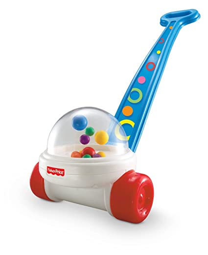 Fisher-Price Brilliant Basics Corn Popper Push Toy by Fisher-Price