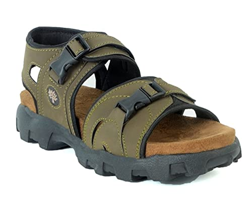 a7445a5ee0e61d AUSTIN JUSTIN Men s Leather Sandals  Buy Online at Low Prices in India -  Amazon.in