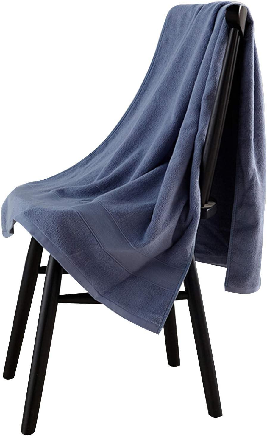 WFF toallas de baño Toallas de baño 100% algodón Toallas de secado rápido para baño Habitaciones de bañera de hidromasaje Piscina Gimnasio Campamento Travel College Dorm Dorm Quality Soft and Absorben