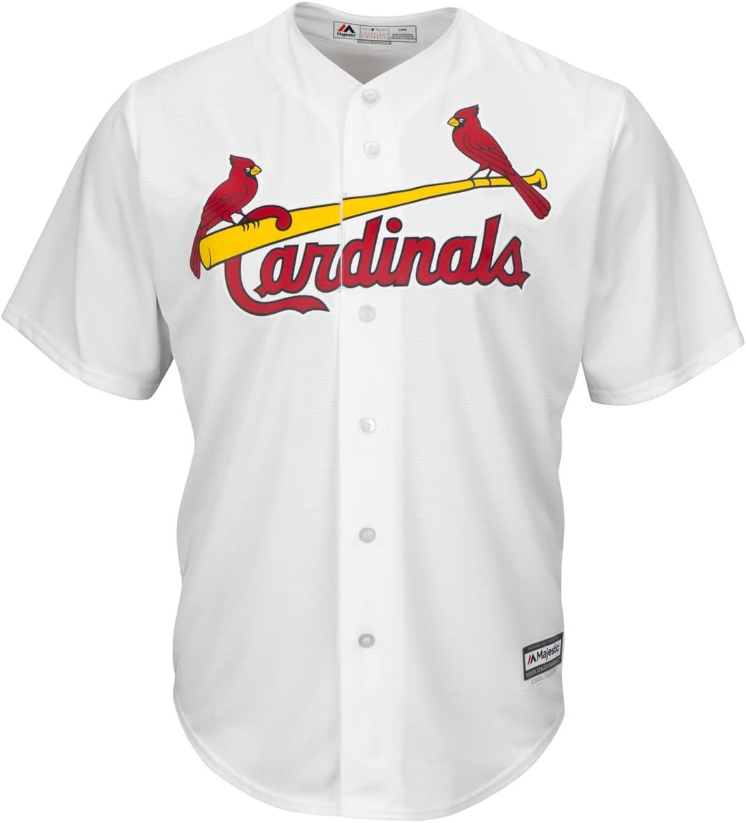 Majestic Athletic Yadier Molina St Louis Cardinals #4 Youth Cool Base Home Jersey