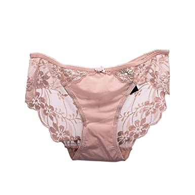 892624608d428 Meijunter Women Underwear Embroidery Transparent Lace Seamless Breathable  Panties Briefs  Amazon.co.uk  Clothing