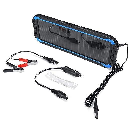 SEESEE.U Cargador Solar, batería de Cargador de Puerto de ...