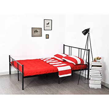 35 inch metal bed frame full size eggreetm full platform beds with