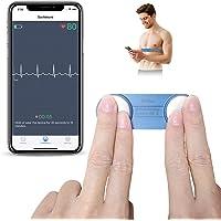 ViATOM ECG-Apparaat Bluetooth, ECG-Monitor Mobiel met APP, ANT+ Hartslagmonitor Borstband, 30 Seconden tot 15 Minuten…