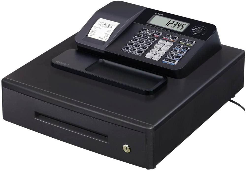 Casio SE-G1MB - Caja registradora (cajón grande para dinero ...