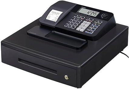 Casio SE-G1MB - Caja registradora (cajón grande para dinero, impresora y pantalla para cliente), color negro: Amazon.es: Oficina y papelería