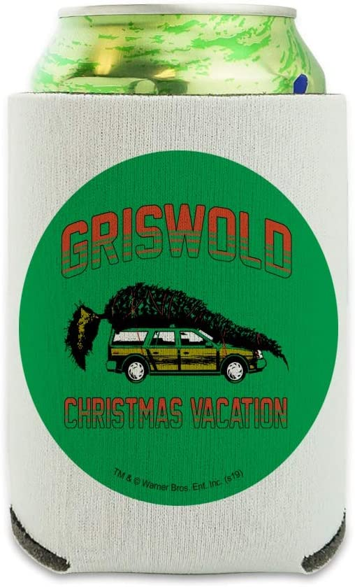 Christmas Vacation Griswold Vacation Can Cooler - Drink Sleeve Hugger Collapsible Insulator - Beverage Insulated Holder