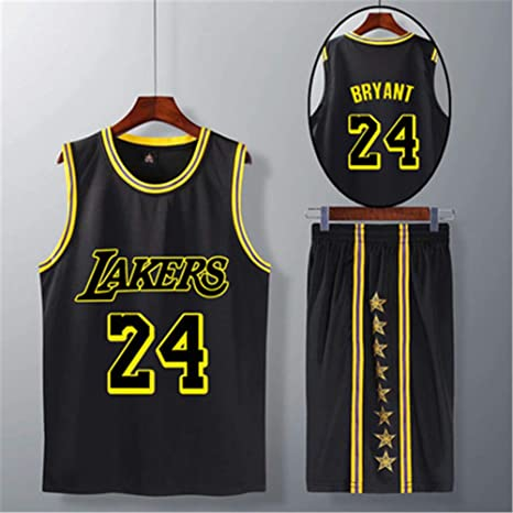 WYN Jersey Los Angeles Lakers Camiseta de Manga Corta de la NBA ...