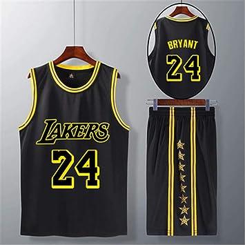 WYN Jersey Los Angeles Lakers Camiseta de Manga Corta de la ...