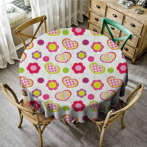 Rank-T Round Tablecloth Tuscan Theme 43
