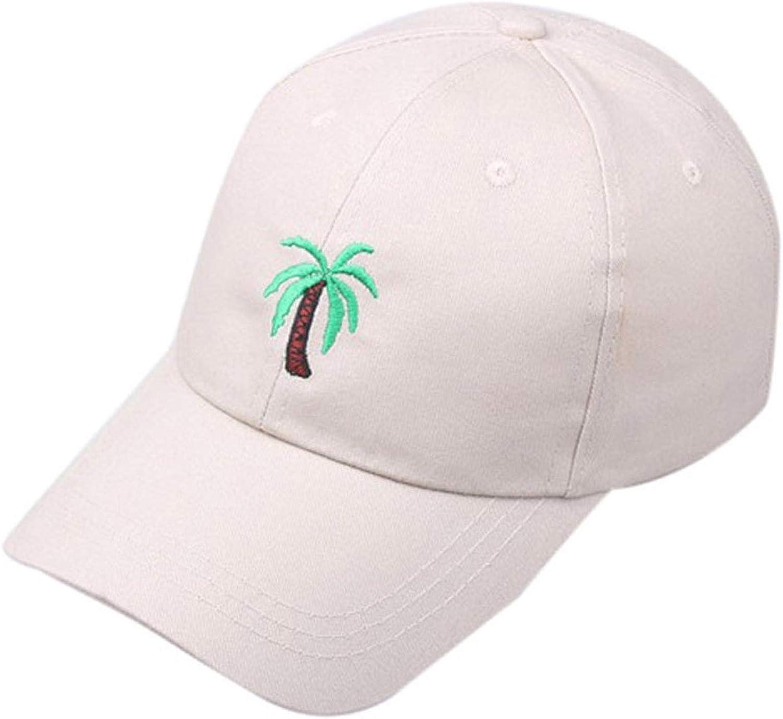Easygoing-Shop Unisex Baseballcap Summer Outdoors Palm Tree Printed Visor Baseball Cap Adjustable Hat