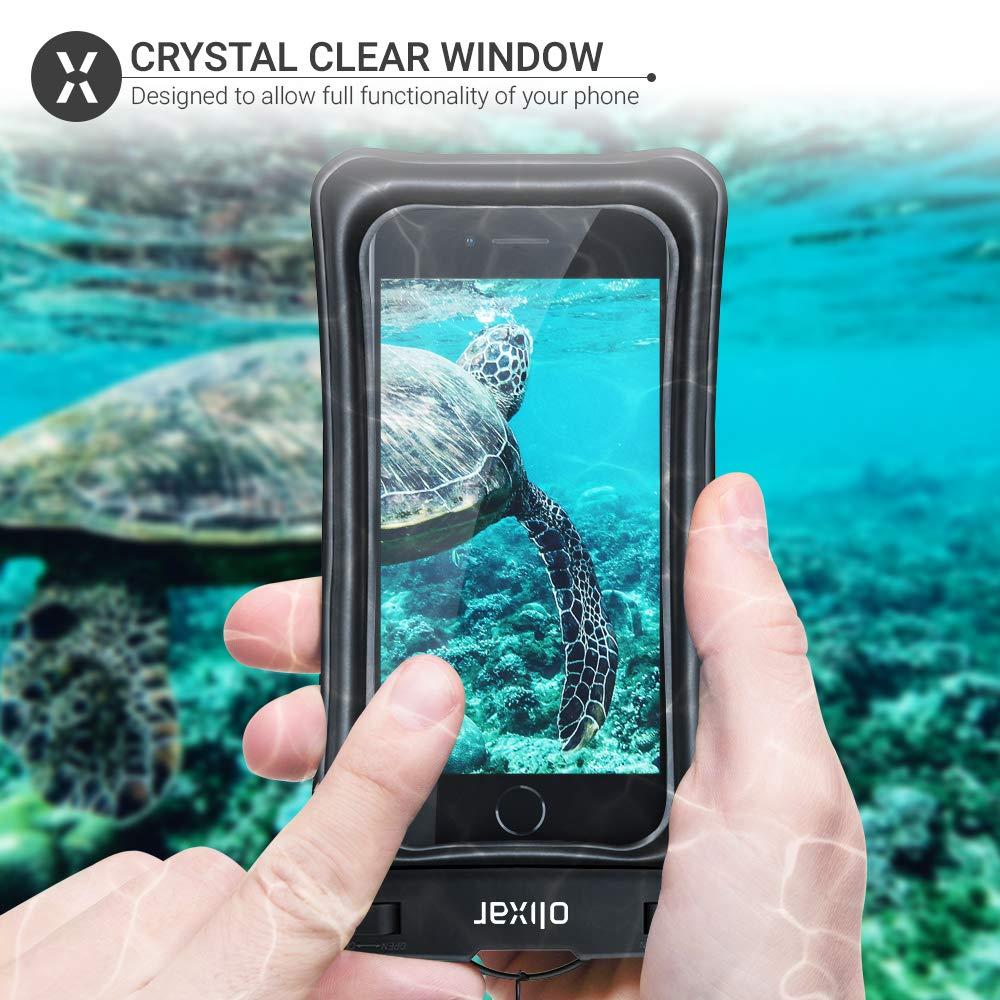 Olixar Funda Impermeable para Huawei P30 Pro Sumergible, dise/ño Universal Color Negro