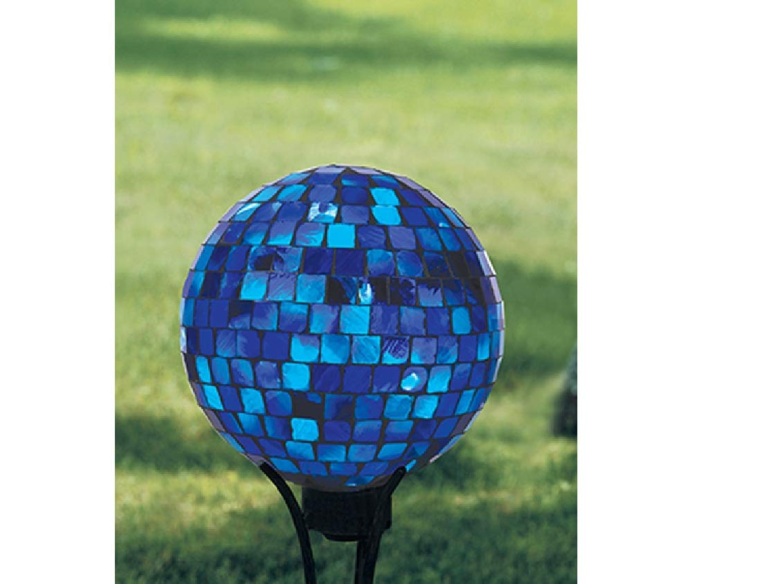 Carson Gazing Ball, Royal and Gold