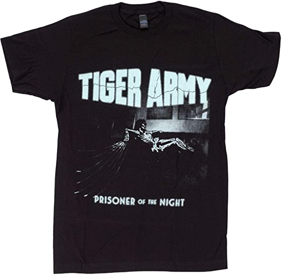 Amazon.com: Tiger-Army-Prisoner-of-The-Night-T-Shirt-: Clothing