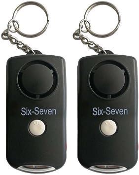 Amazon.com: Llavero de alarma personal – 130 dB auto defensa ...
