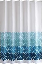 Shower Curtain Dekoration Wasserdicht Duschvorhang Gradient Twill Dick Bad Lanyard High 200cm Grosse