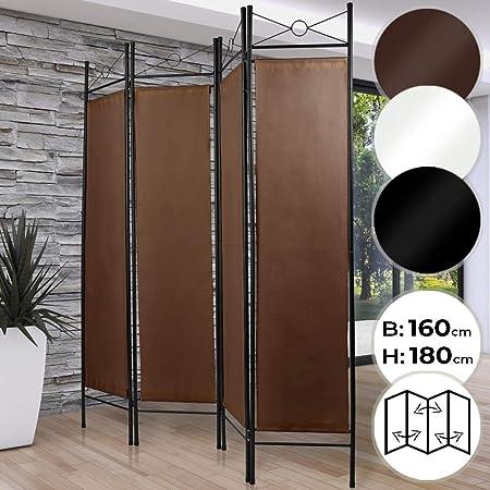 MIADOMODO Biombo Separador - 4 Paneles, 180x160cm, como Pantalla ...