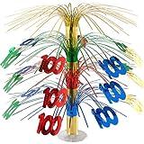 Beistle 50366-MC 100-Inch Cascade Centerpiece, 18-Inch