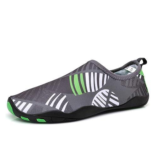 SerhGo Zapatos de Agua Zapatillas Ligeros de Secado Rápido como de Comodidad Descalza Unisexo para Buceo