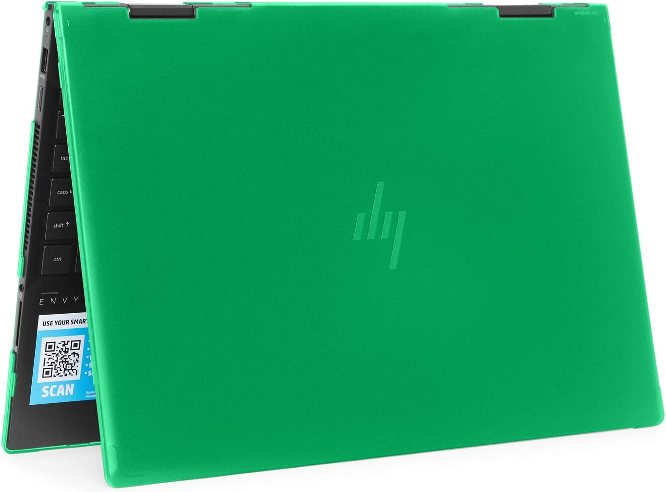 "mCover Hard Shell Case for 2019 15.6"" HP Envy X360 15-DSxxxx / 15-DRxxxx Series (NOT Compatible with X360 15-AQxxx / 15-BPxxx and Other Series) (Green)"