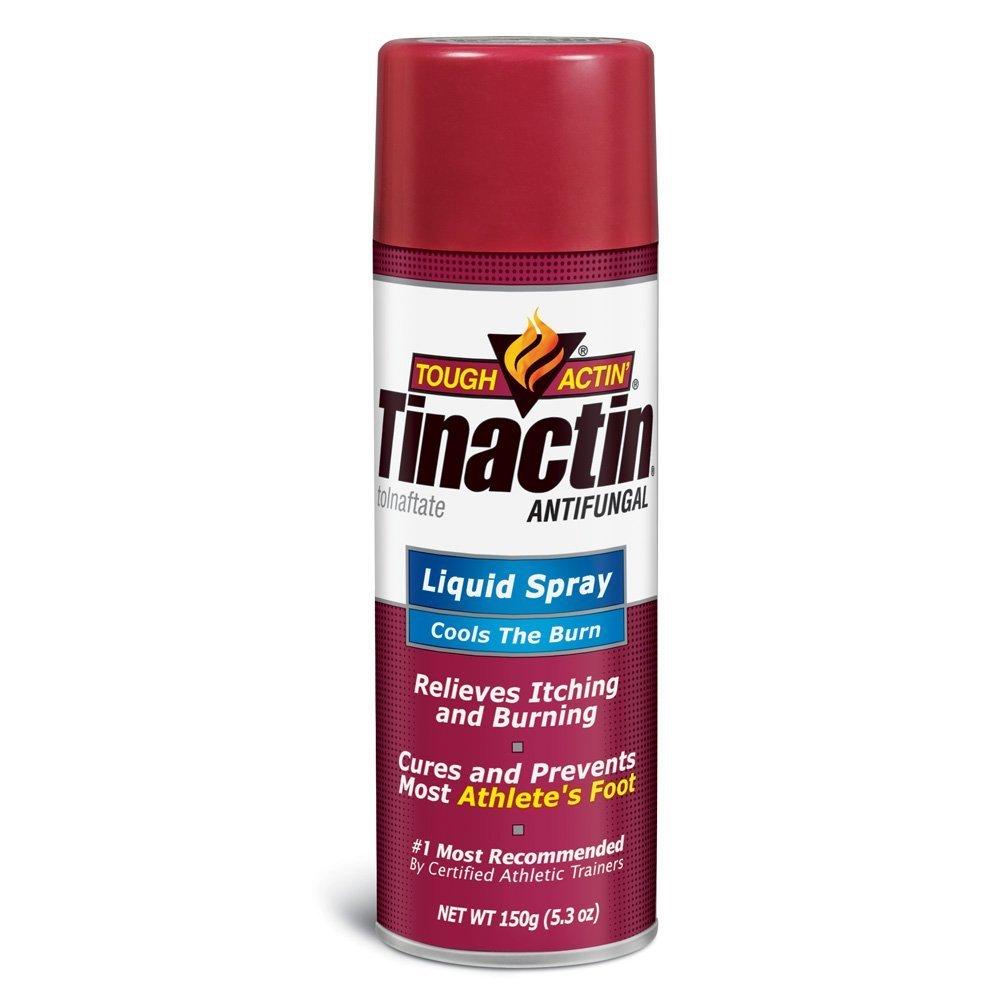 Tinactin Antifungal Liquid Spray Value Size 5.30 oz(Pack of 36)