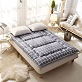DHWJ Tatami mattresses 10cm,Thickened,Cotton,Mattresses,Mattress mats-E 135x200cm(53x79inch)