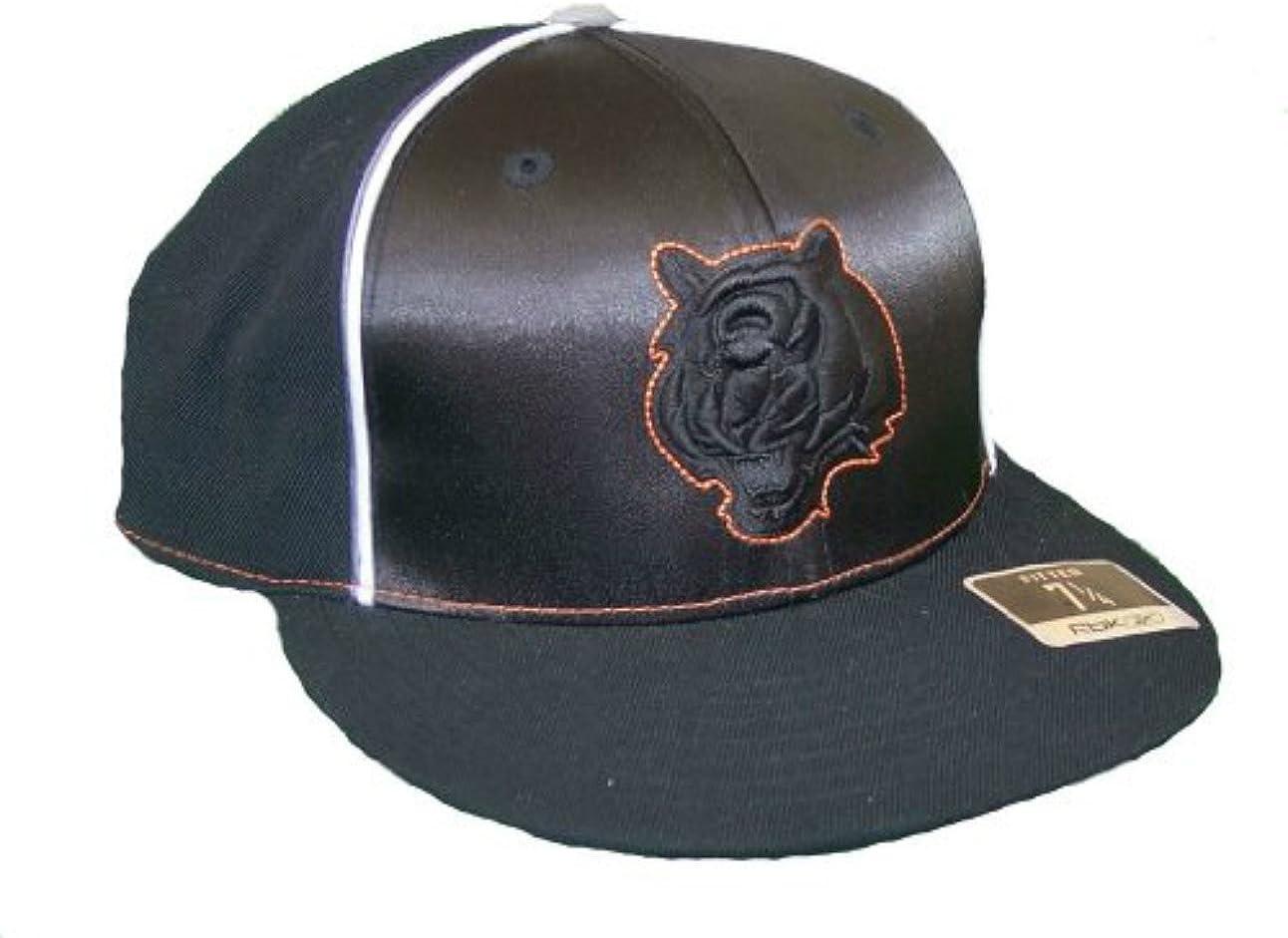 Cincinnati Bengals Fitted Size 7 3//8 Hat Cap