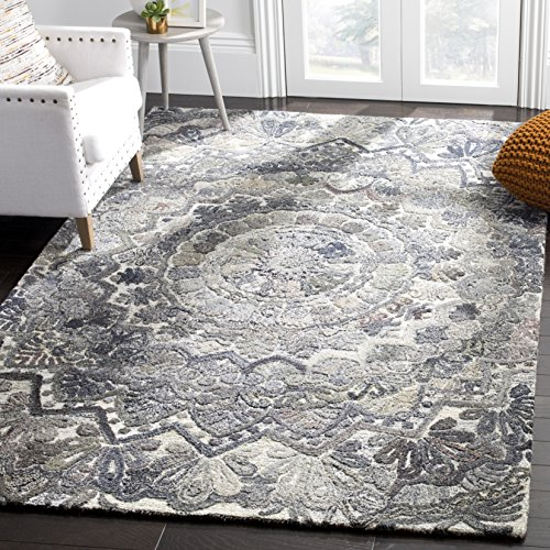 Safavieh Marquee Collection Vintage Area Rug, 8' x 10', - Inch Area Multi 10' X Rug 2'6