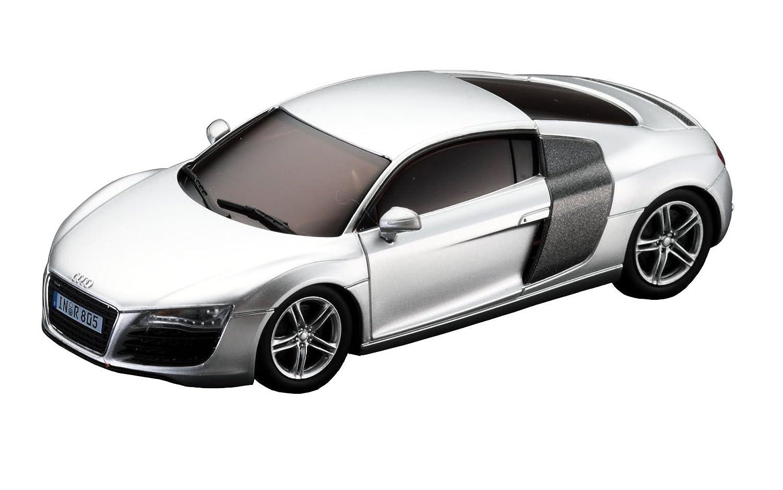 Kyosho D DSLOT Audi R Coche de carreras miniatura escala : plateado