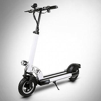XC Plegable Mini Scooter Eléctrico Amortiguador Adulto Bicicleta en Nombre de la Conducción de Dos Rondas