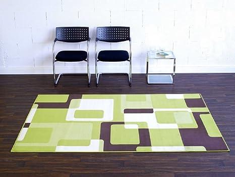 Tappeto retro verde beige marrone soggiorni tappeto tappeto