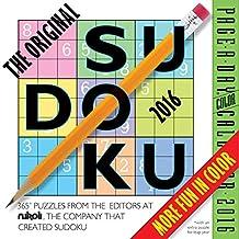 The Original Sudoku Color Page-A-Day Calendar  2016