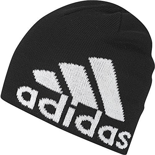 adidas Knit Logo Mütze, Black/White, M