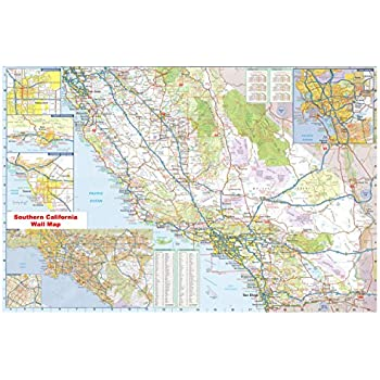 36x54 Southern California Official Executive Laminated Wall Map on california middletown map, california state map, california on us map, california canal map, california rice map, california oakland map, north central california map, california stream map, california travel map, california world map, california usa map, california union map, california wood map, california toll map, northern california map, california road map, california ocean map, california border map, california map wallpaper, california column map,