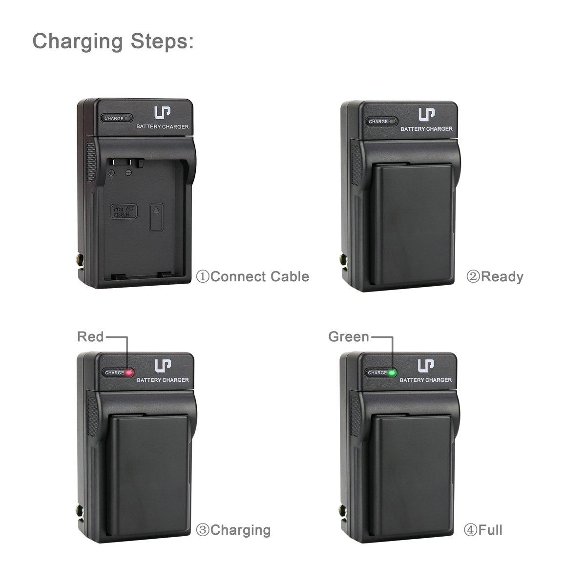 En El14 Battery And Charger For D3100 D3200 D3300 Power Connector Cover From Nikon D3400 D3500 D5100 D5200 D5300 D5500 D5600 Df Coolpix P7000 P7100 P7700