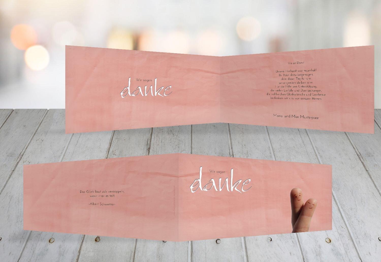 Kartenparadies Danksagung für Hochzeitsgeschenke Hochzeit Dankeskarte Dankeskarte Dankeskarte Fingerpaar 2, hochwertige Danksagungskarte Hochzeitsglückwünsche inklusive Umschläge   100 Karten - (Format  215x105 mm) Farbe  Hellbraun B01MZC73JB | Verschiedene A ca9788