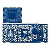 Tattered Lace Craft A Card - Antique Bobbin Cutting Die Set TLD0184 20-Die Set