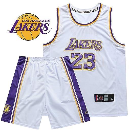 Conjunto de Jersey de Baloncesto Lakers de Dos Piezas James ...