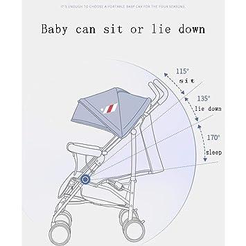 Xiaoping Cochecito de bebé de Cuatro Estaciones Ultraligero ...