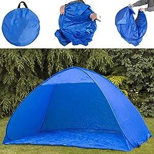 The Magic Toy Shop Pop Up 2 Man Beach Camping Festival Fishing Garden Kids Tent Sun Shelter