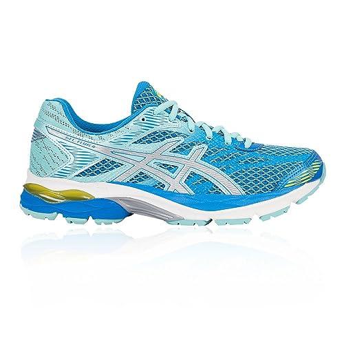 ASICS Gel Flux 4 WOMEN Scarpe Donna Running Scarpe da corsa BLUE SILVER t764n 4393
