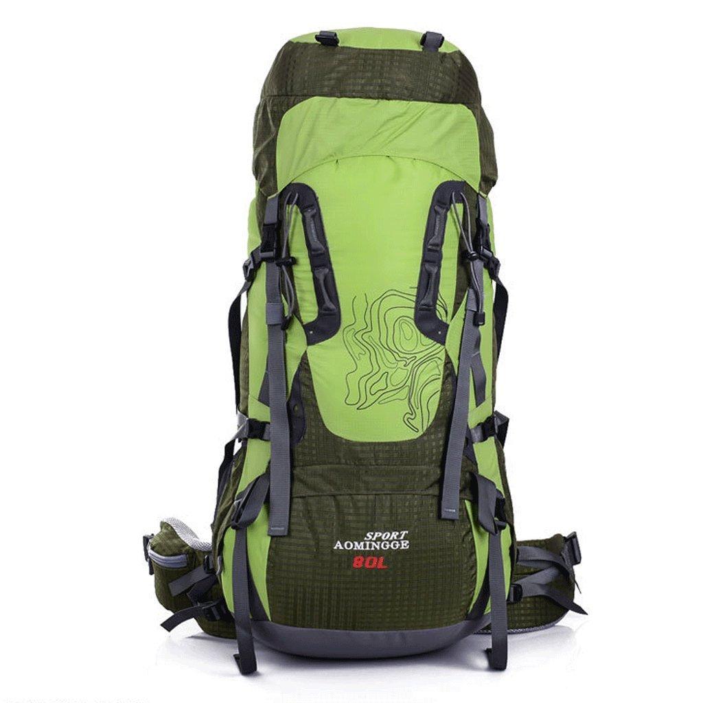 Outdoor-Klettern Reitpacktasche Tasche Tasche mit großer Kapazität wasserdichte Wanderrucksack 80L