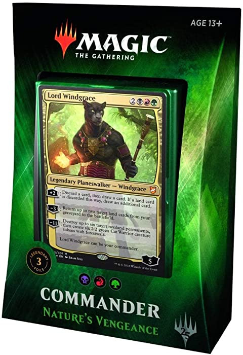 The Best Magic The Gathering Commander Guided By Nature