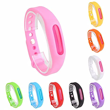 Mosquito Repellent Natural Citronella Wrist Band Type   Outdoor & Indoor  for Adults & Kids Insect Protection (Multicolor) - A&E: Amazon.in: Garden &  Outdoors
