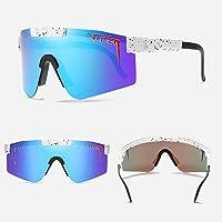 $21 » Pit-Viper Sunglasses,UV400 Polarized Sunglasses for Men and Women, Cycling Running Fishing Golf Sunglasses