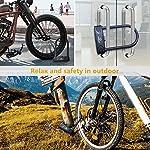 NORANIA-Lucchetto-Bici-a-U-Catena-Bici-U-Locks-con-Combinazione-a-4-Cifre-Resettare-Antifurto-per-Bici-per-Scoot-Motociclette-Bicicletta-Porta-AcciaioTemprato-Rivestito-in-PVC