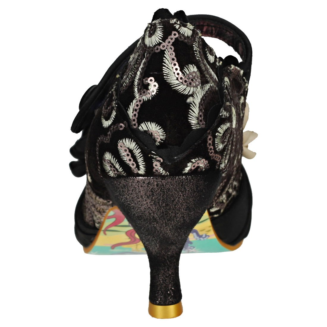 Low Button Womens Party Heel Irregular Choice Court Thames Upon FTKJu3l1c