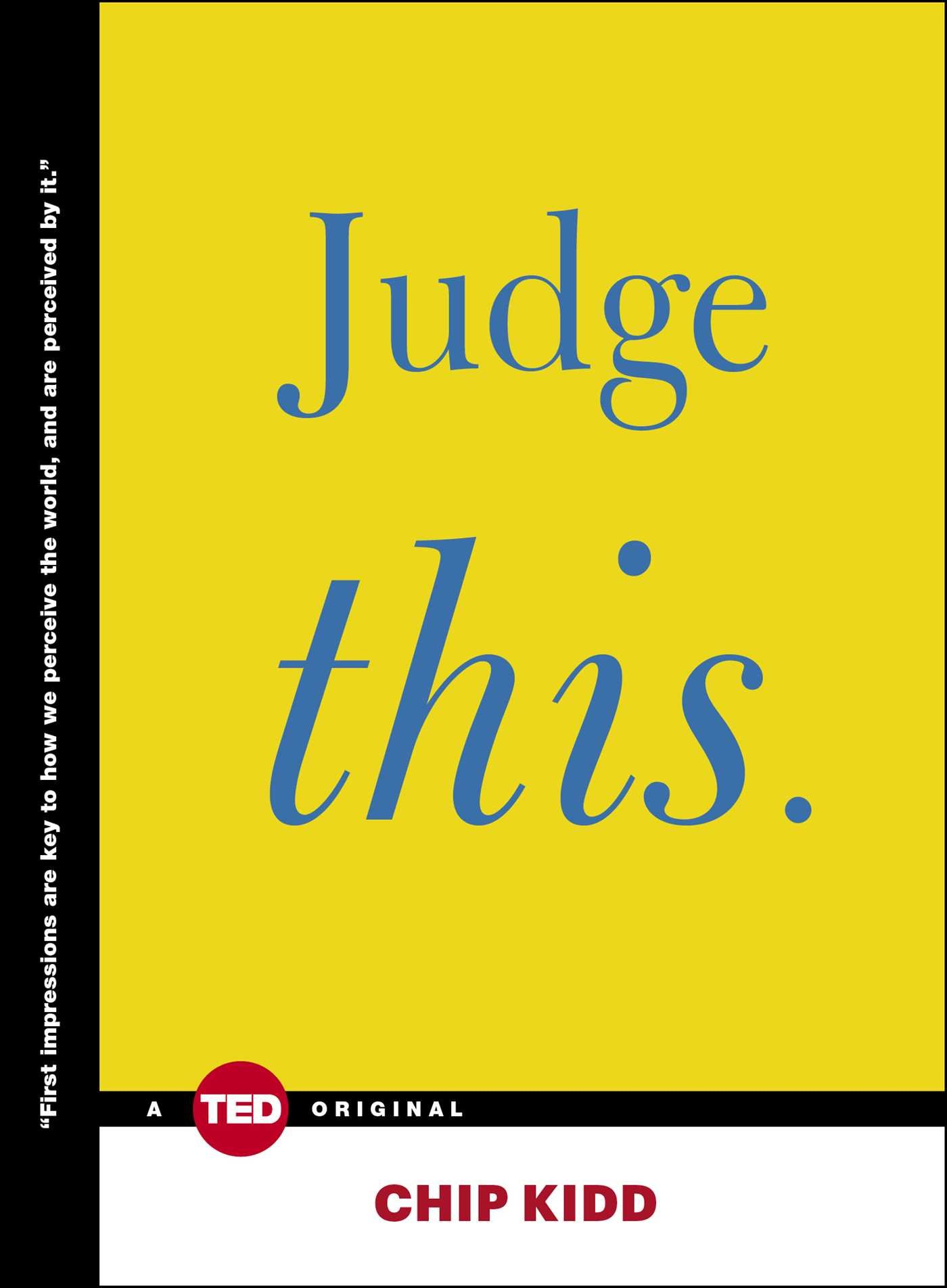 Judge This (TED Books) ebook